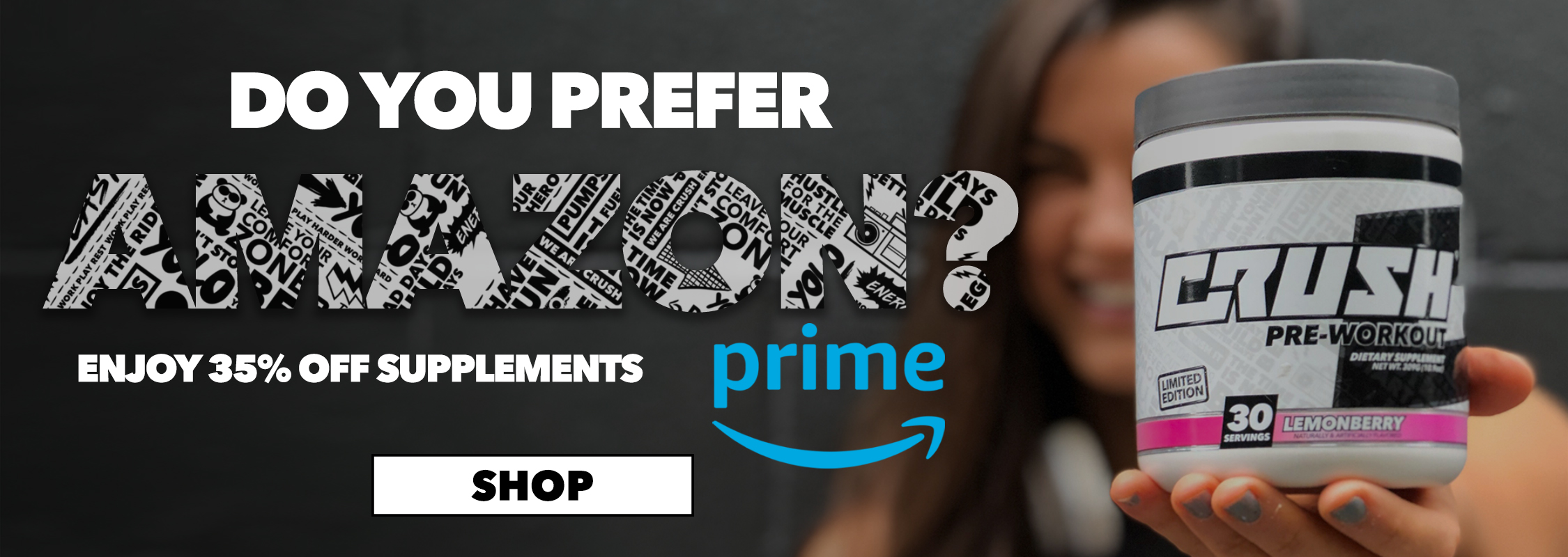 Crush Fit Amazon Prime