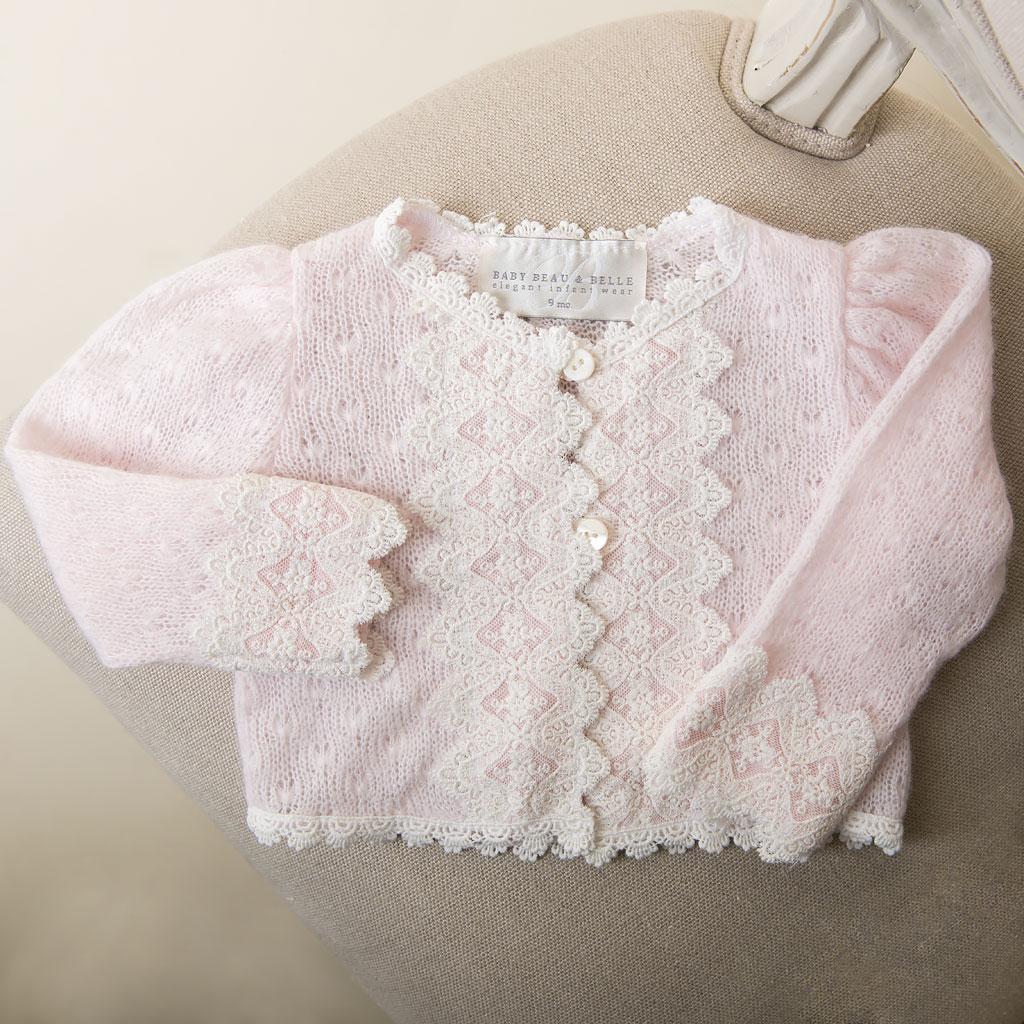 Girls Christening Sweaters