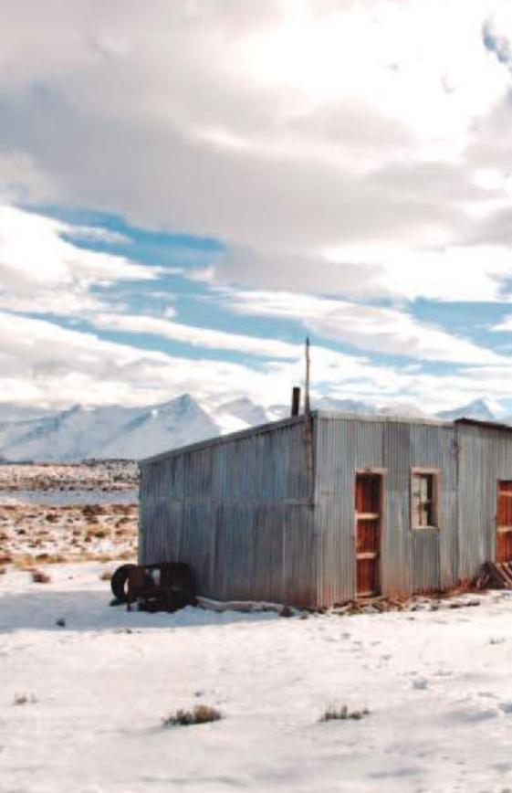 cabane dans les Andes