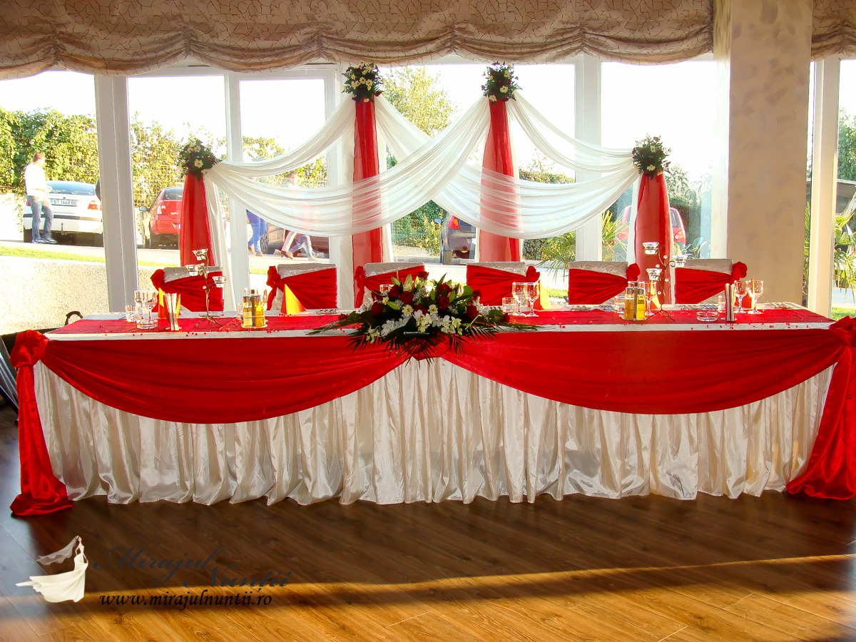 decoratiuni nunta la restaurant casa noastra targoviste