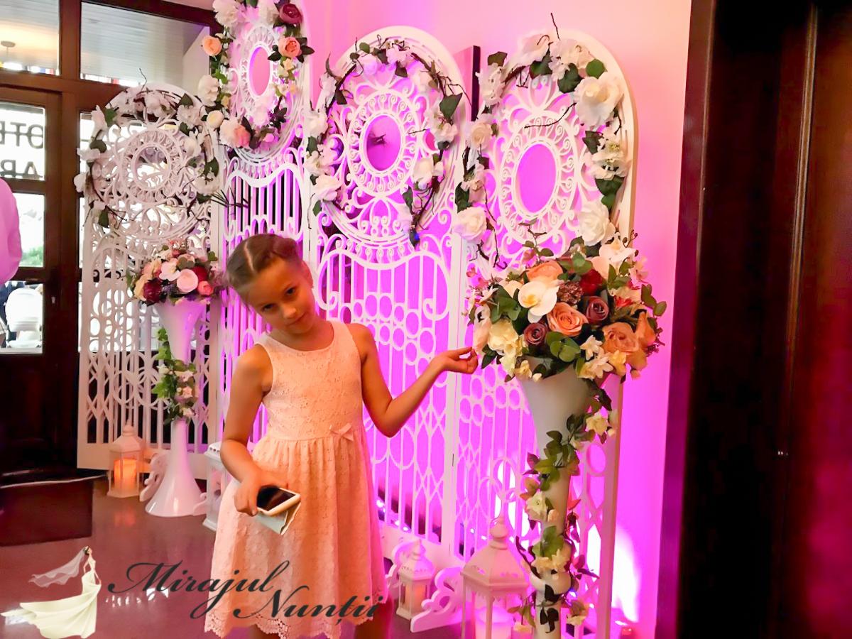 Panou fotografii la nunta