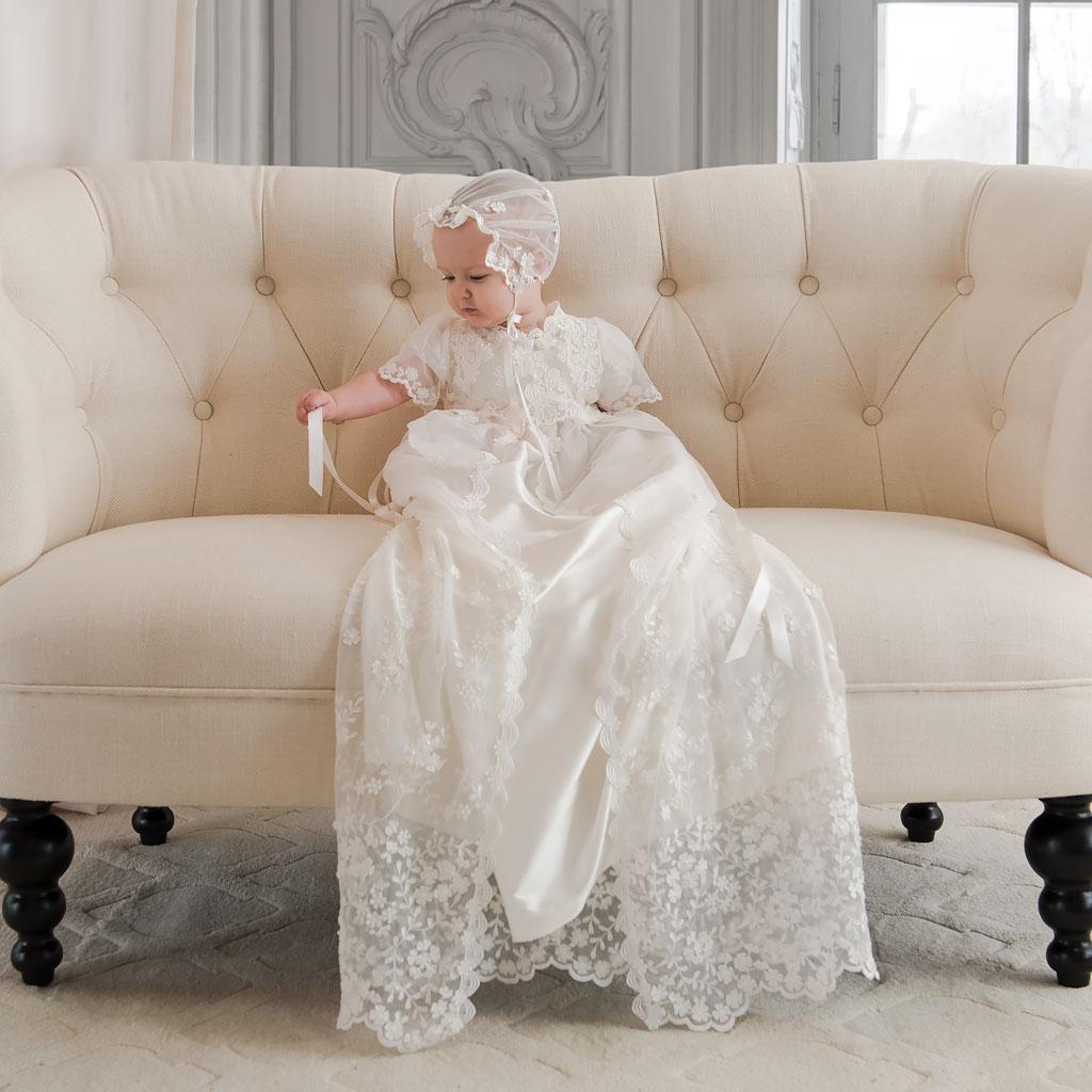 Caroline Girls Christening Gown Collection