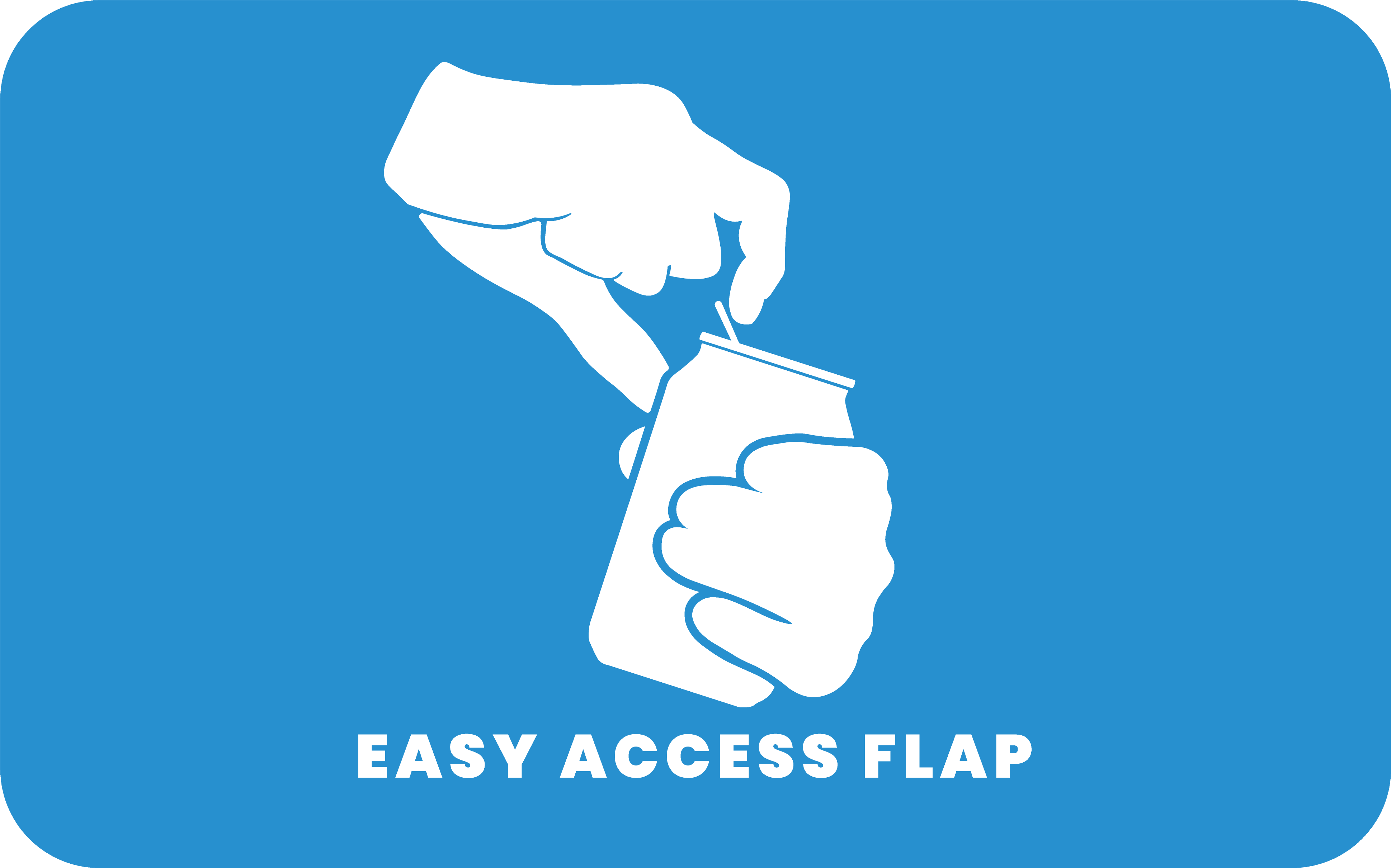 Easy Access Flap Icon