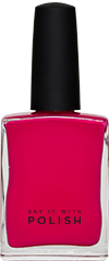 Dark Pink Nail Polish