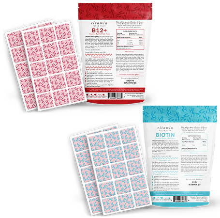 Biotin and B12 patch bundle