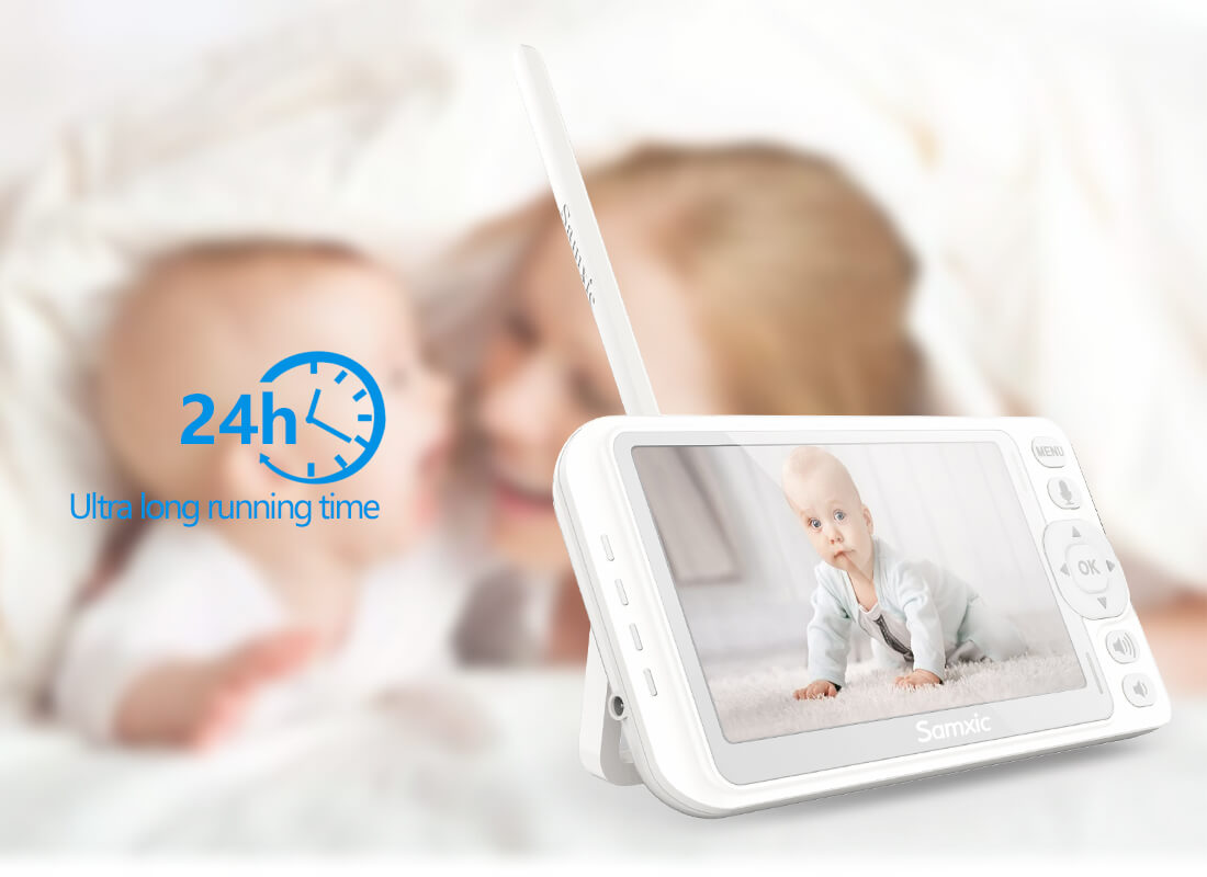 baby monitor with long battery life