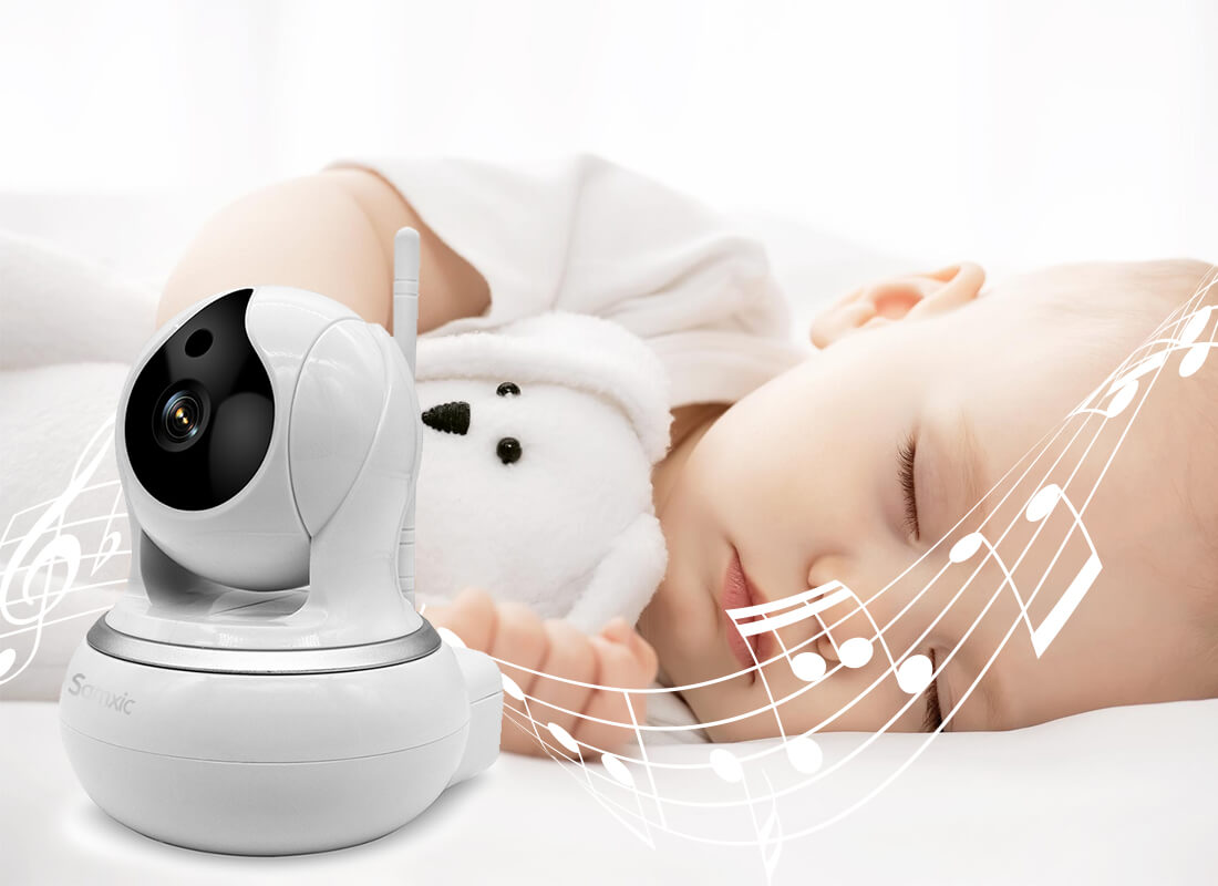 baby monitor with lullabies