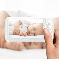baby monitor with zoom feature