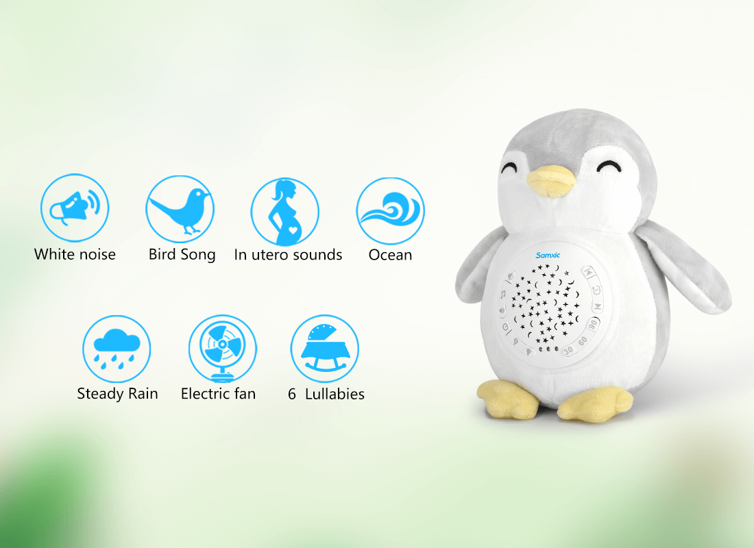 baby sleep soother with sound