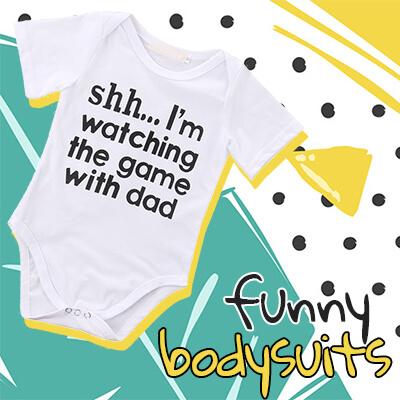 Baby Boy Funny Bodysuits