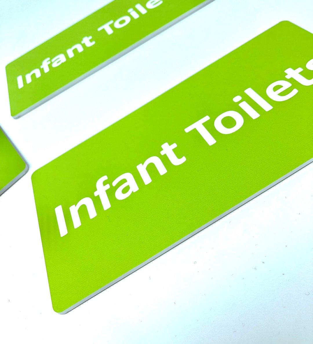 School Toilet Signs