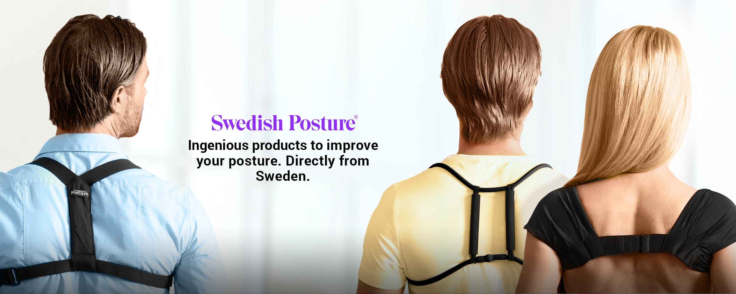 Swedish Posture - ingenious products to improve your posture. Directly from Sweden.