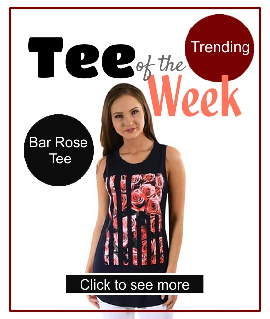Tee of the week T-Shirt For Women Luv Fashion