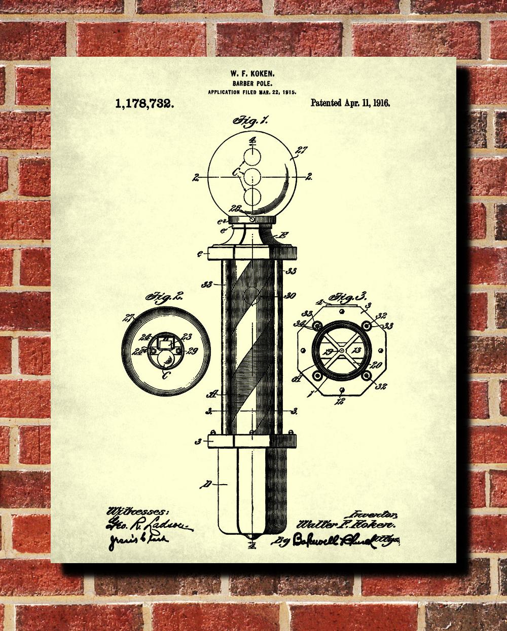 barber patent