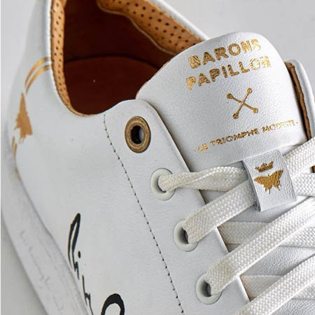 Sneakers made in France - Barons Papillom - My Parisiennes