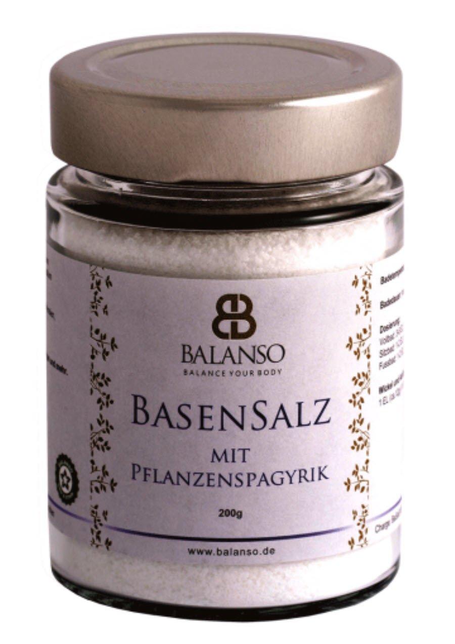 Basenbad zur Entsäuerung-basisches Badesalz plus Kräuterspagyrik 200g