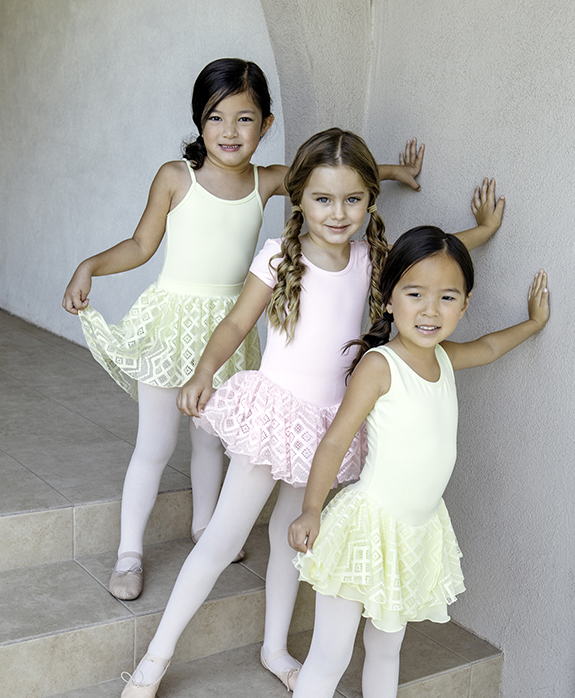 Basic Moves Spring2018 Ballet Wear Trio