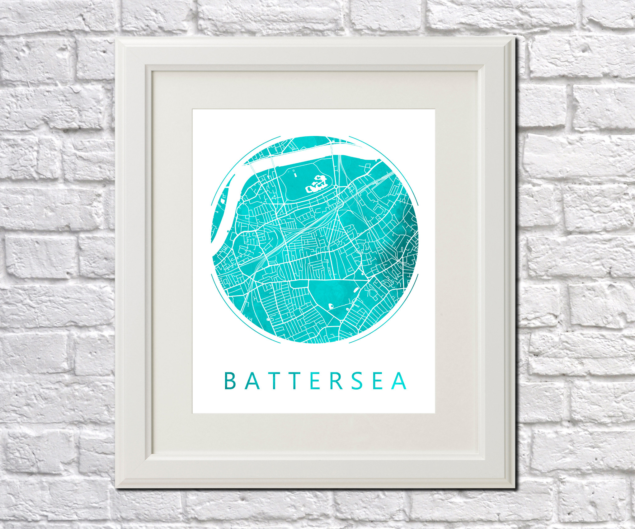 battersea map