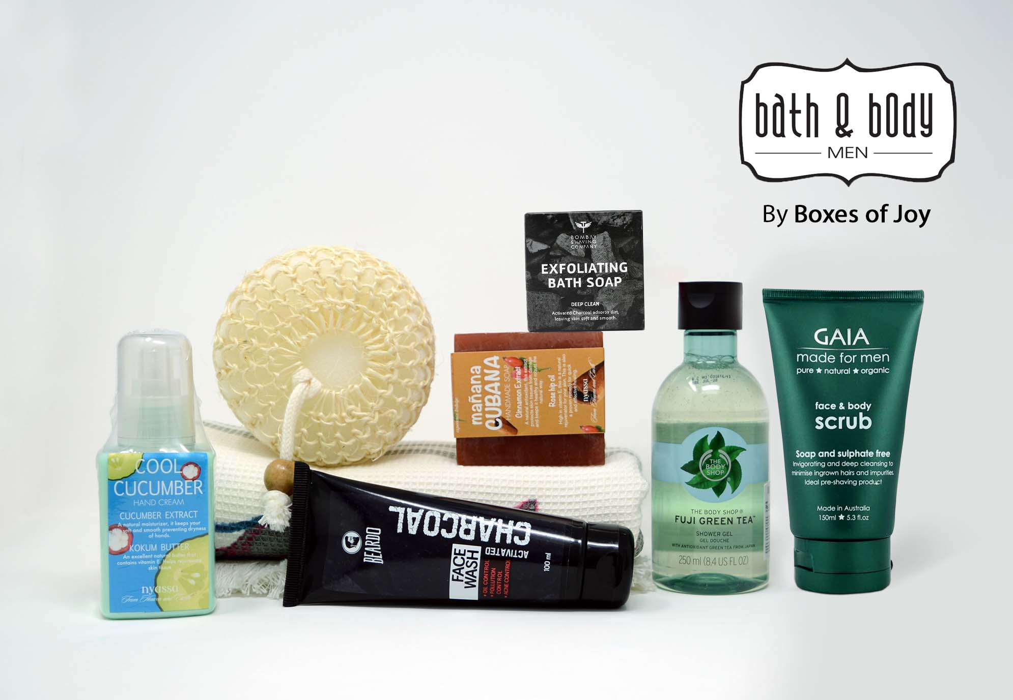 Bath & Body Box for Men - Aug 2018