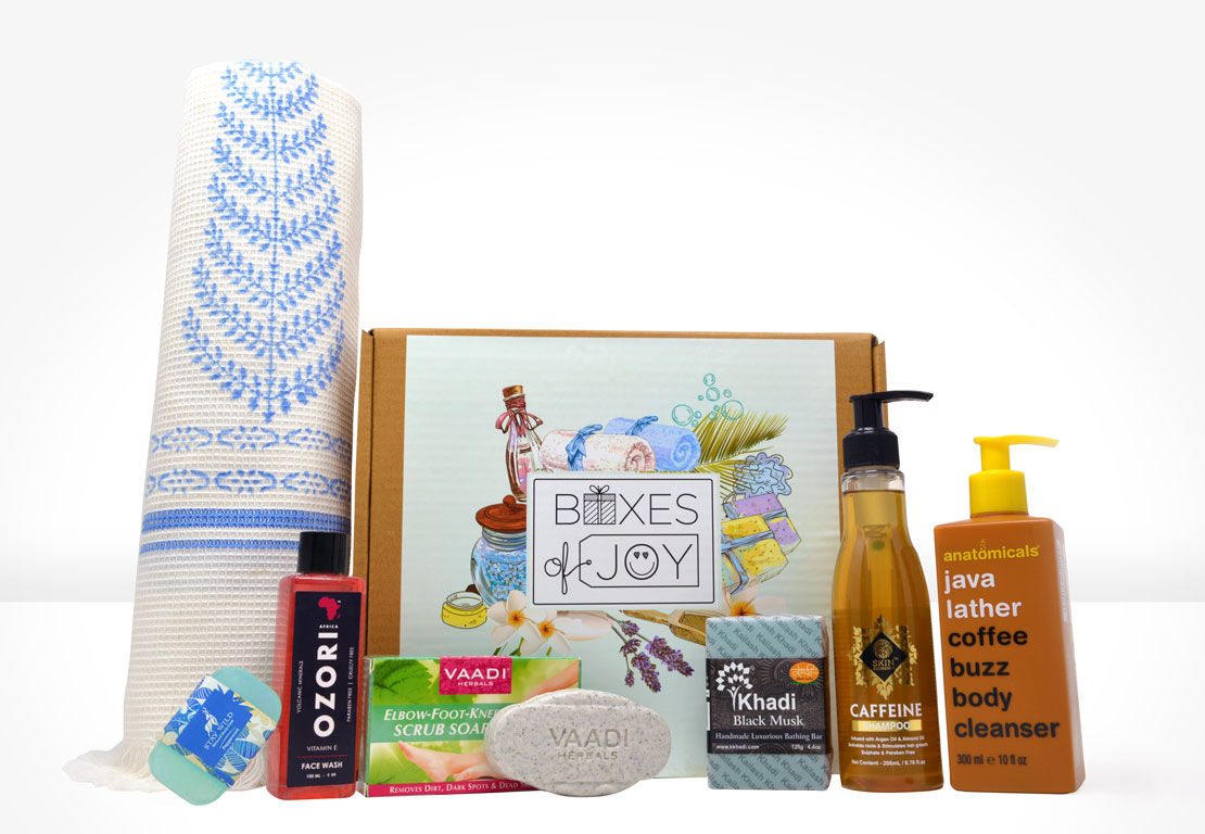 Bath & Body Box for Men - Sept 2018