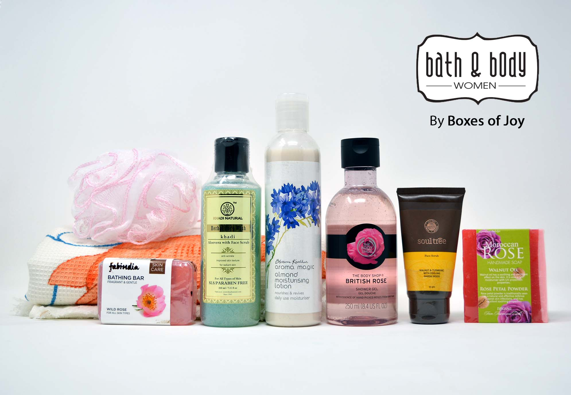 Bath & Body Box For Women - Aug 2018