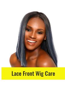 Regimen for Lace Front Wig Care