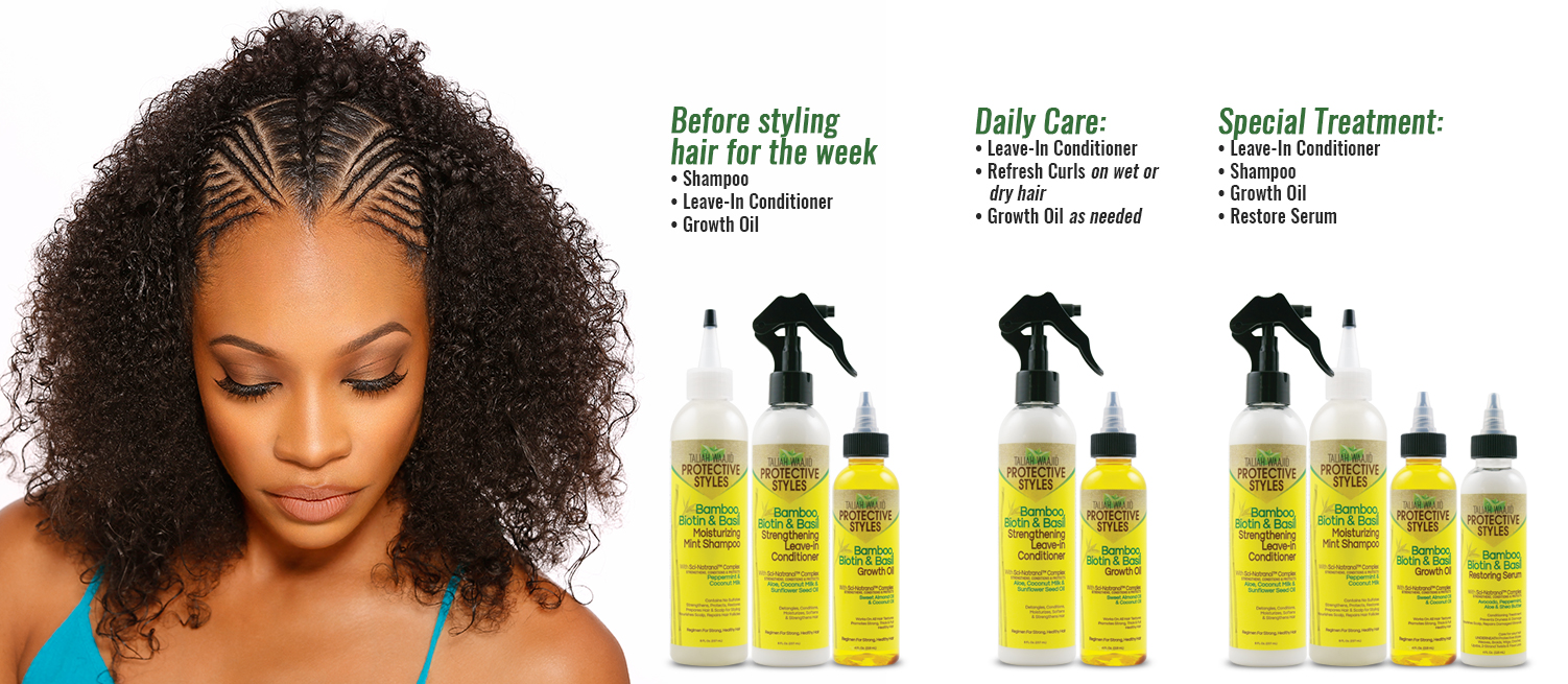 Protective Styles Regimen Guide for Natural Hair Care