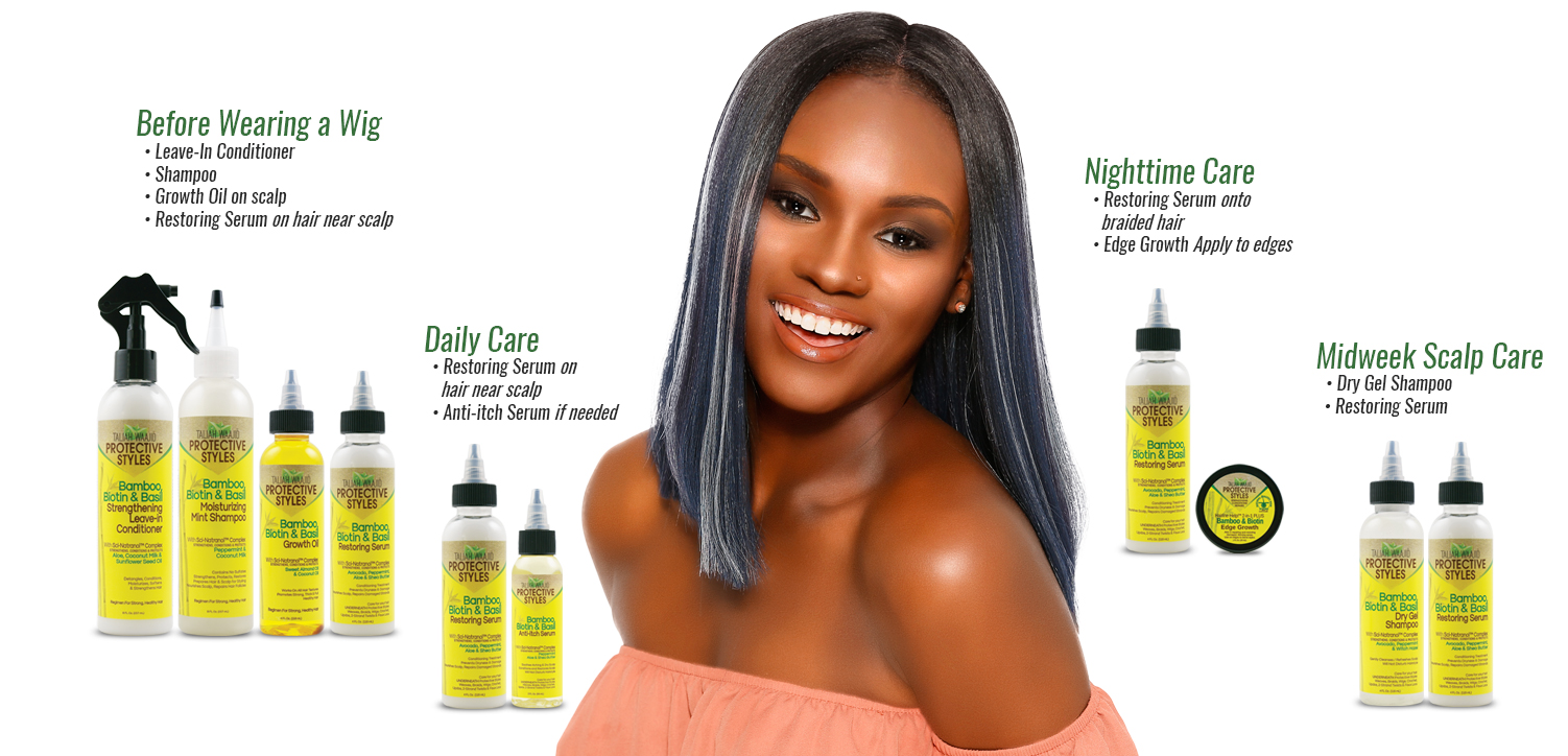 Protective Styles Regimen Guide for Lace Front Wig Care