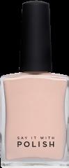 Pastel Peach Nail Polish