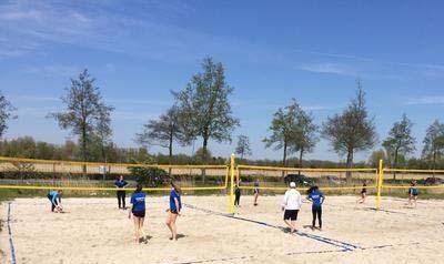 beach volleybal in groningen