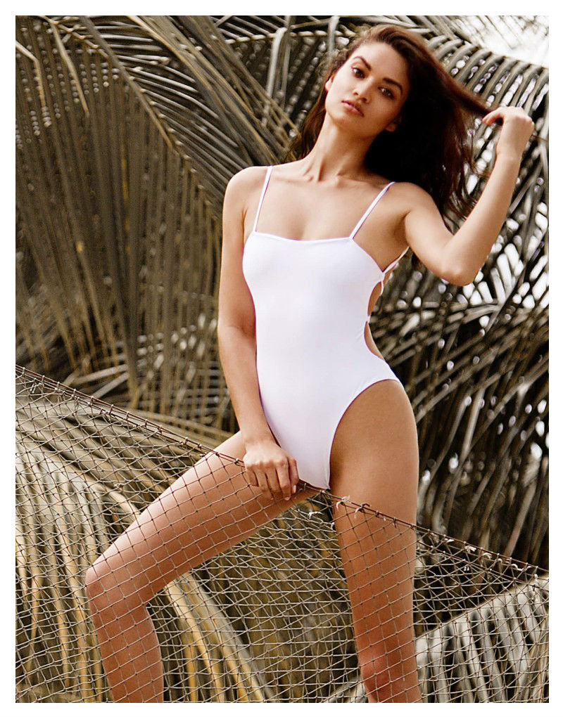Beach Bunny Luna white one piece swimsuit