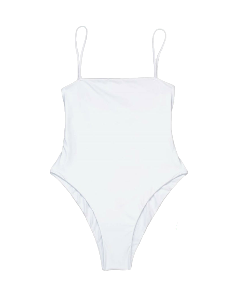 Beach Bunny Luna One Piece in white