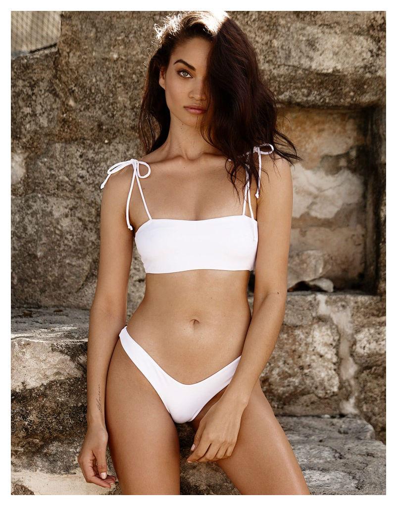 Beach Bunny Luna Bandeay Bikini - White