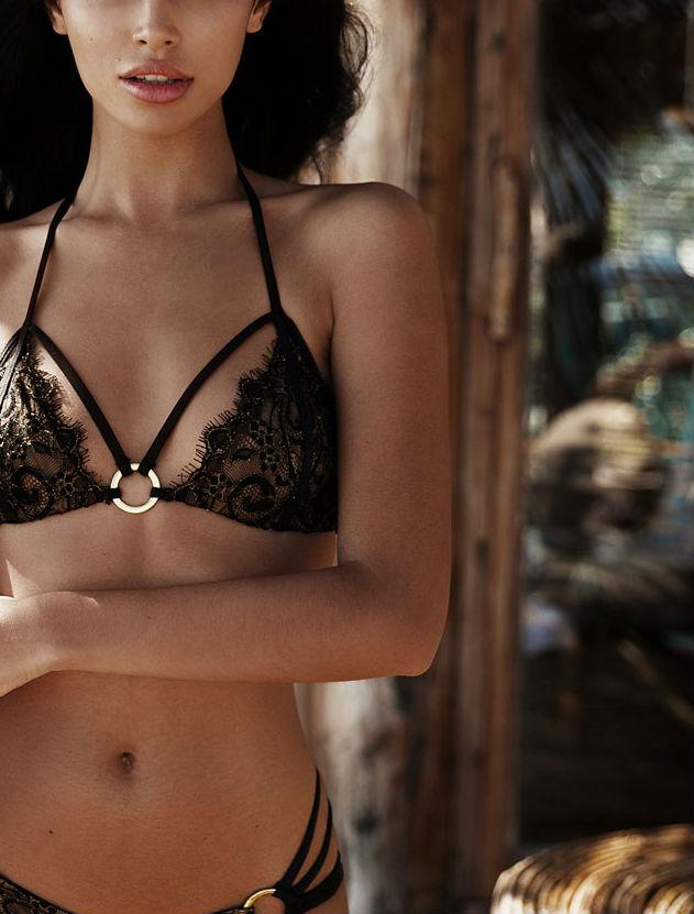 Beach Bunny Gunpowder & Lace bikini