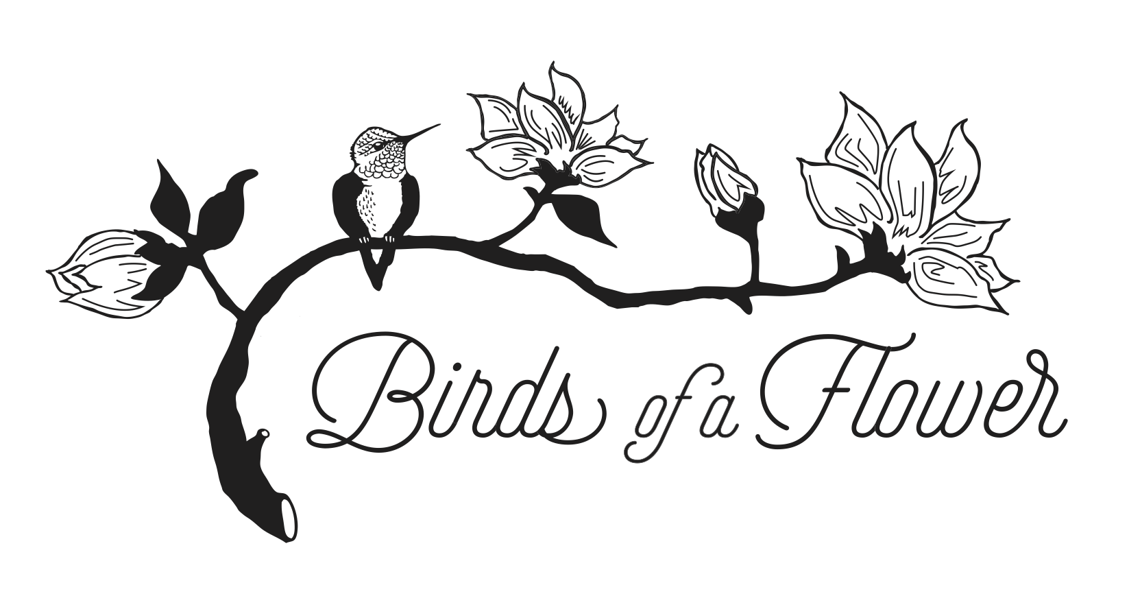 Birds Of A Flower logo