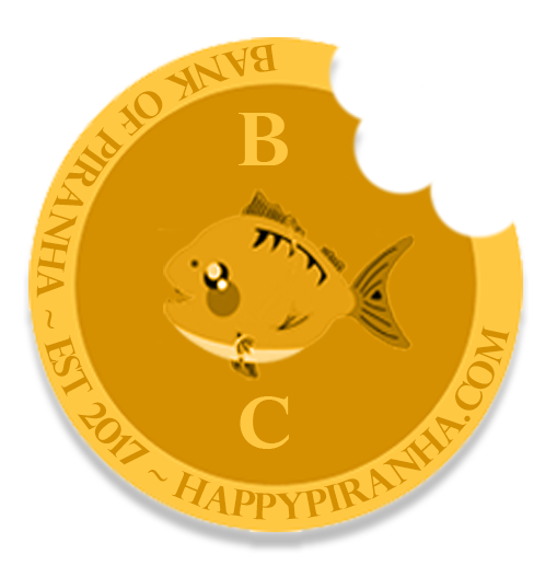 Happy Piranha Bite Coin
