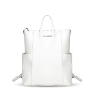 Blanc Emilie convertible backpack computer custom vegan real leather