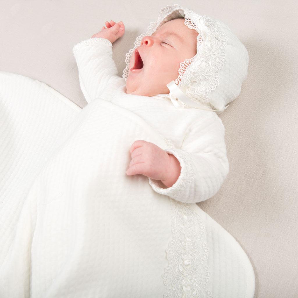Louia White Girls Christening Dress Collection