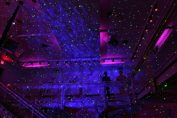 BlissLights BL-50 Starfield light at nightclub