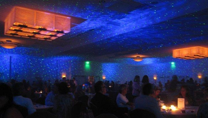 BlissLights BL-50 Starfield light at wedding