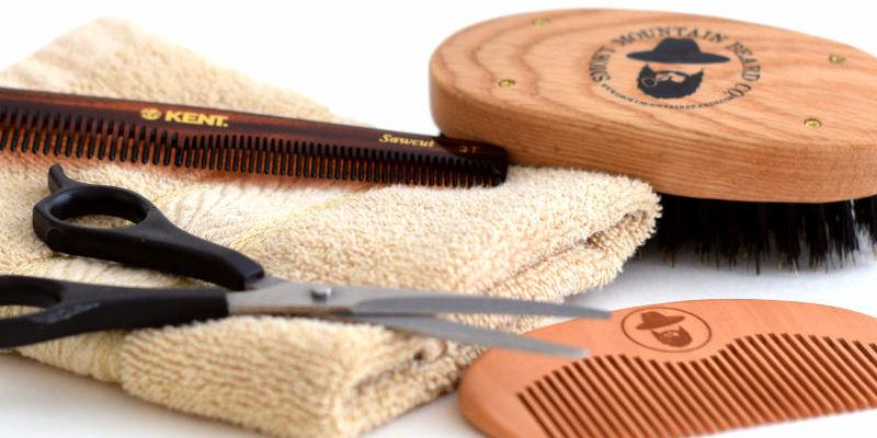 beard grooming brush comb