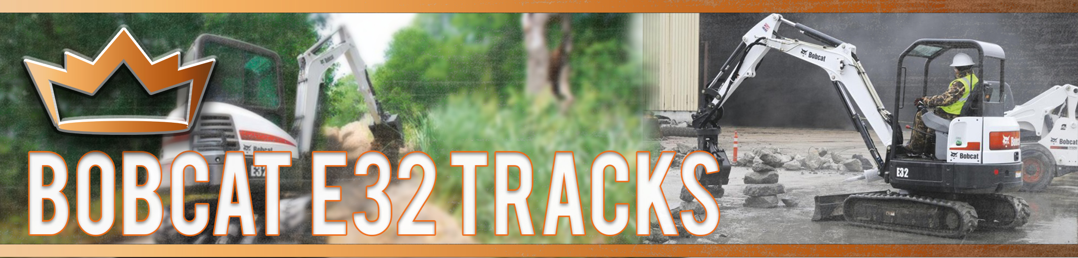 Bobcat E32 Tracks
