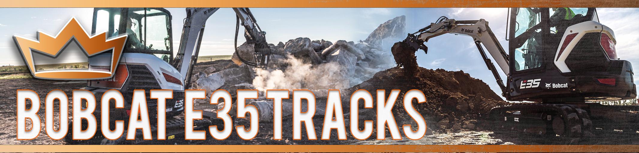 Bobcat E35 Tracks