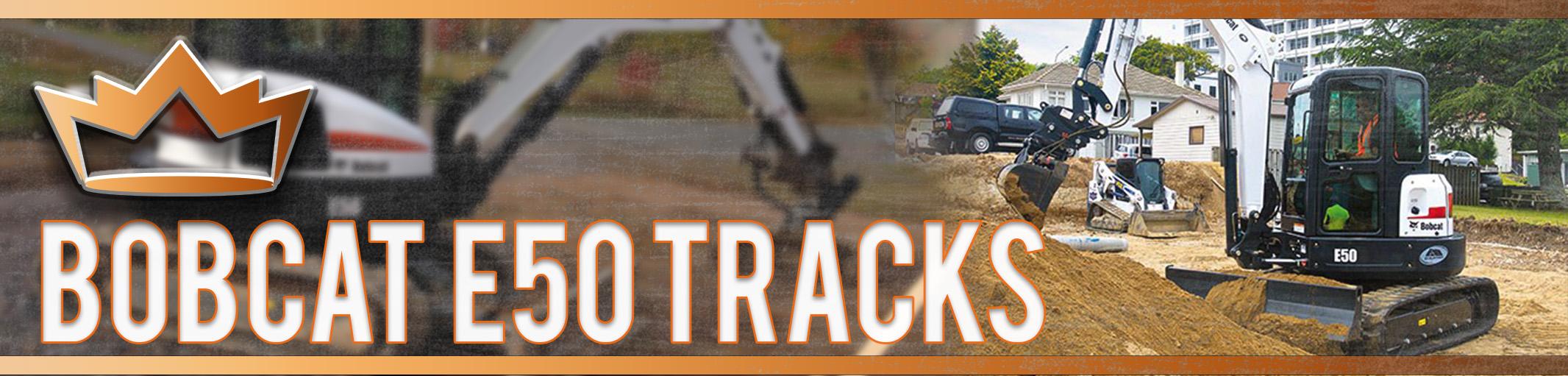 Bobcat E50 Tracks