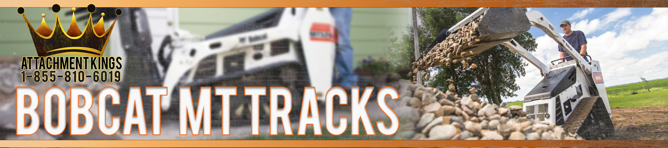 Replacement Tracks for Bobcat MT50, MT52, and MT55