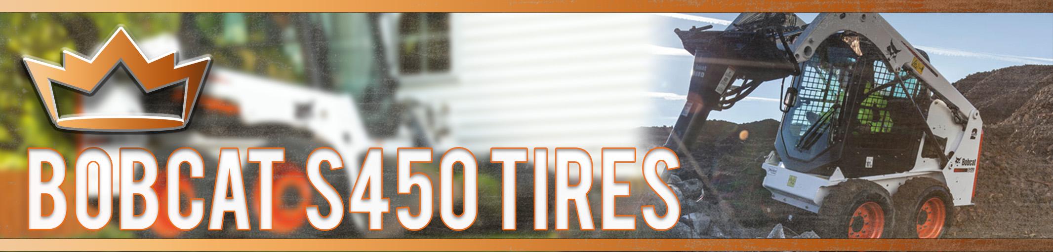 Bobcat S450 Skid Steer Tires