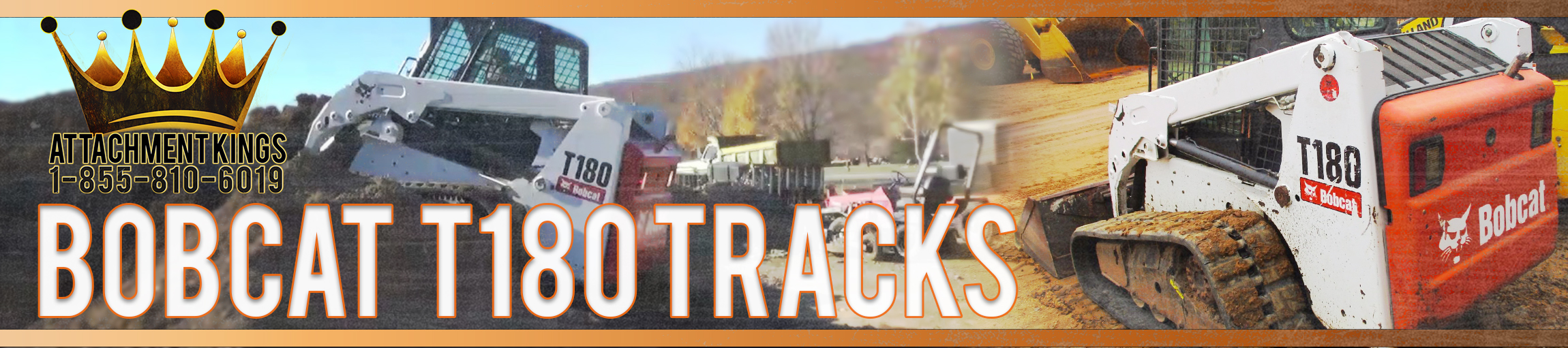 Replacement Tracks for Bobcat T180