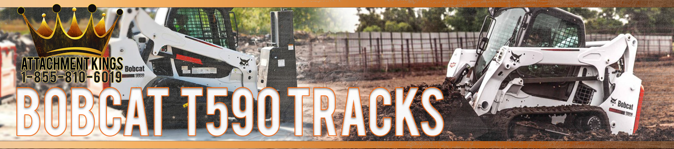 Replacement Tracks for Bobcat T590