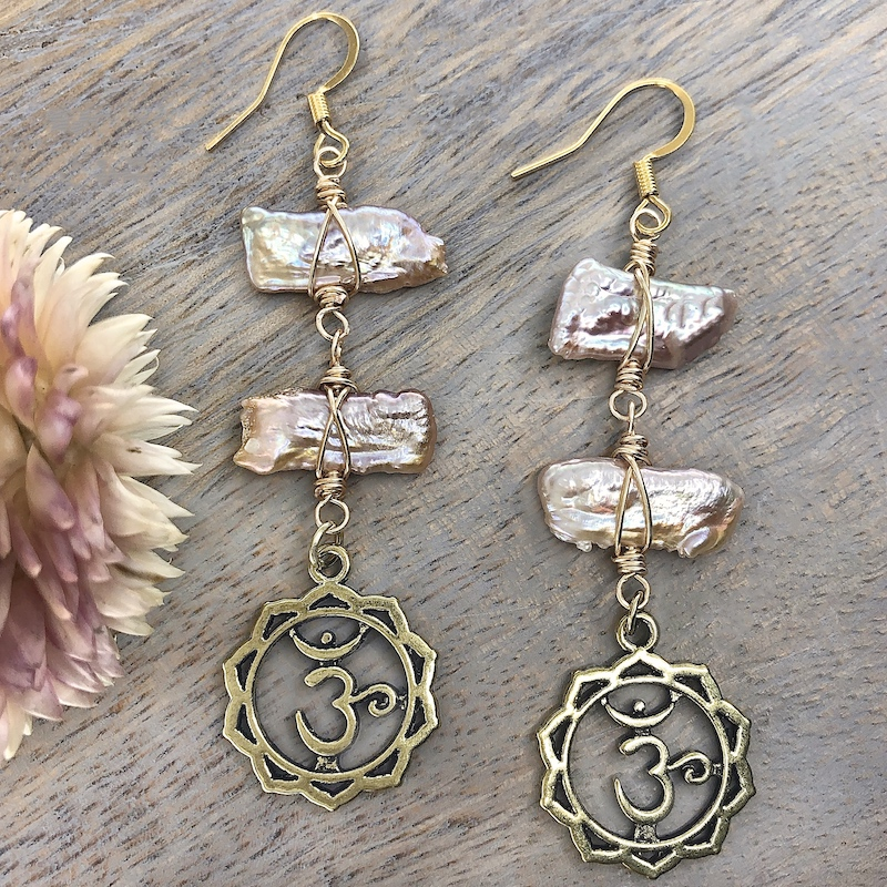 Bohemian Blush Earrings