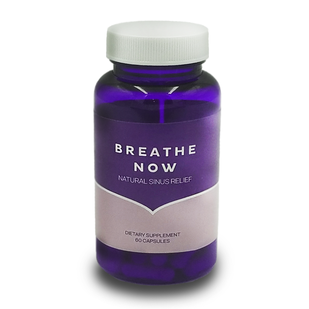 breathe now natural sinus relief supplement